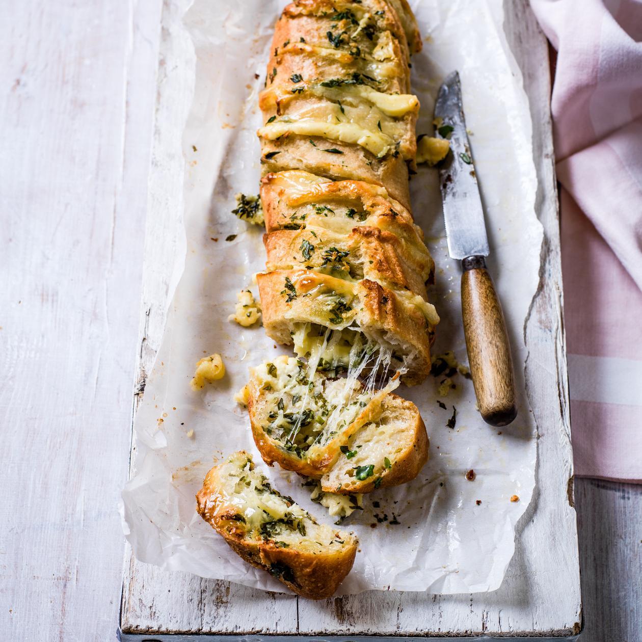 Best Ever Garlic Bread Recipe Sainsbury S Magazine