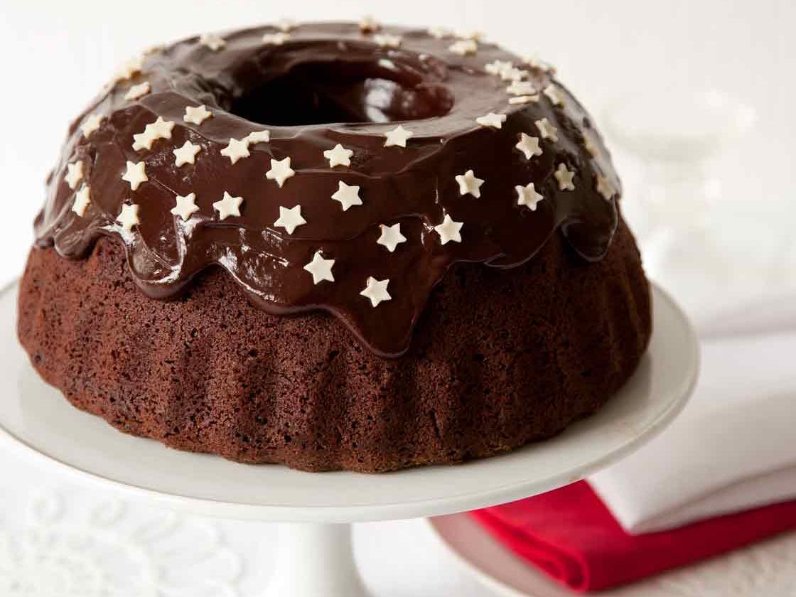 Spiced Chocolate Cake With Chocolate Icing Sainsbury S Magazine