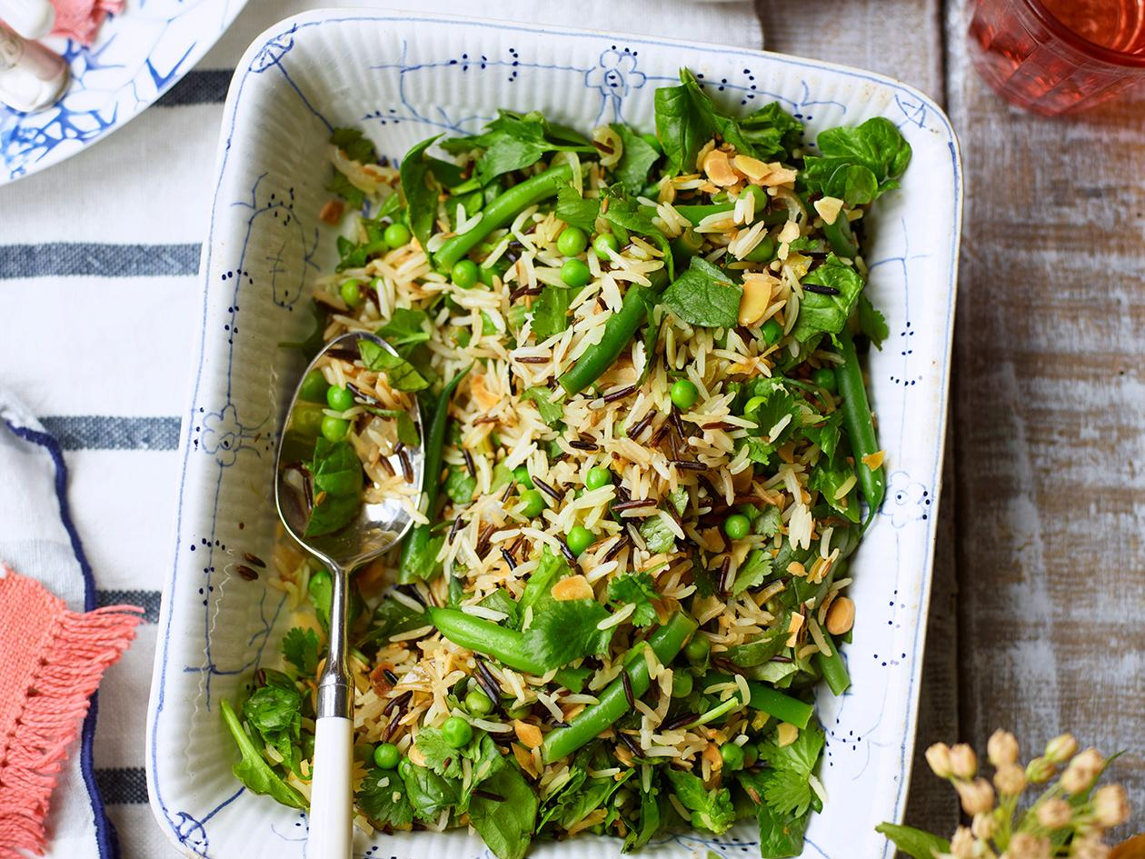 Spiced Basmati Rice Salad Recipe Sainsbury S Magazine