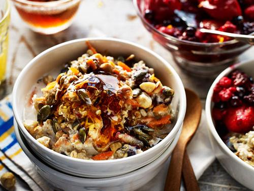Bircher Style Muesli With Ruby Red Fruit Sainsbury S Magazine