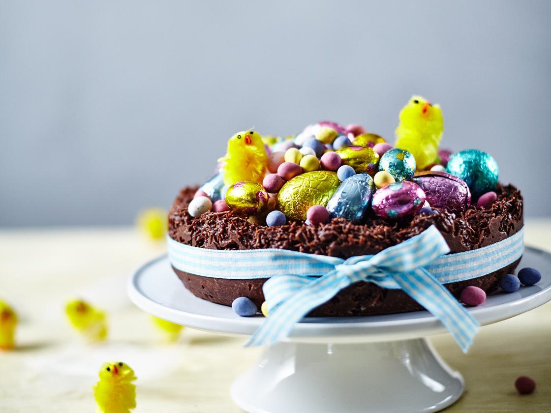 Easter Nest Cake Recipe Sainsbury S Magazine