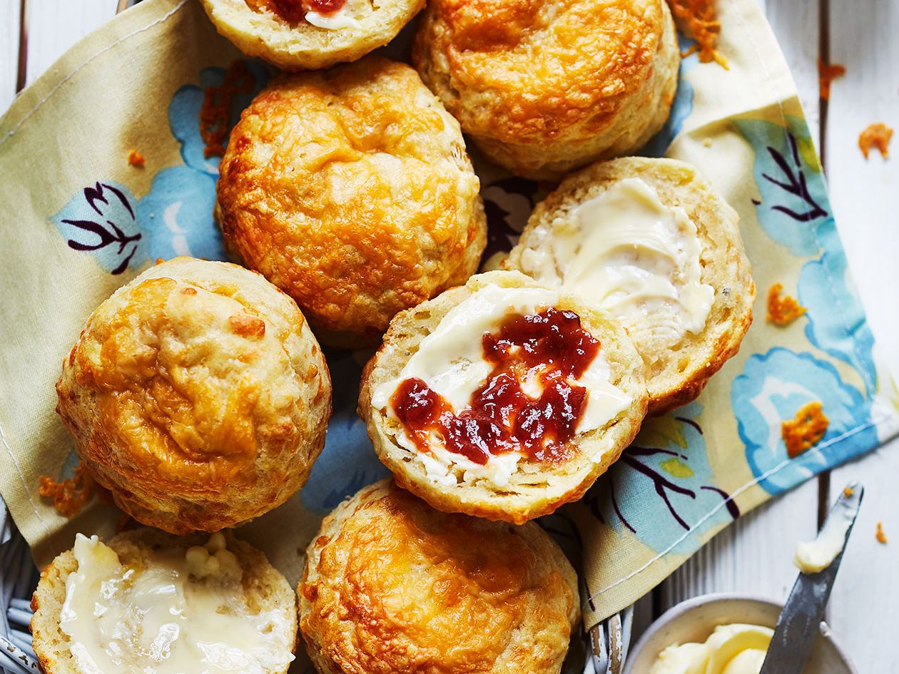 Cheese Scones Recipe Sainsbury S Magazine
