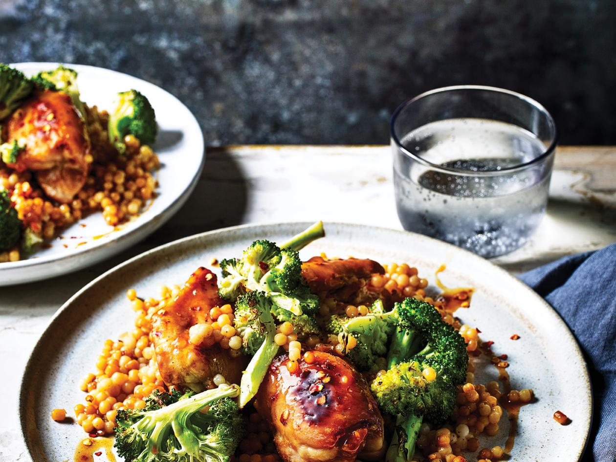 Sweet Orange Chicken With Broccoli Recipe Sainsbury S Magazine