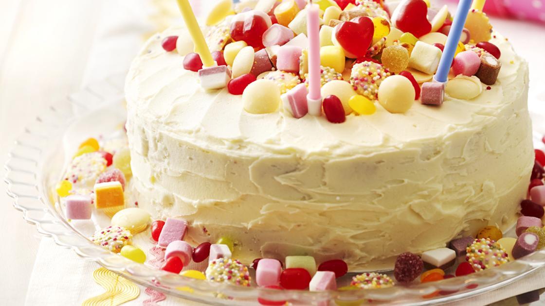 Fabulous Sweetie Birthday Cake Sainsburys Magazine Funny Birthday Cards Online Overcheapnameinfo