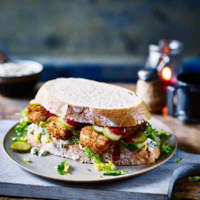 Ultimate fish finger sandwich