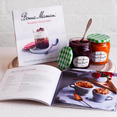 Win one of 20 Bonne Maman breakfast compote gift boxes with new cookery book