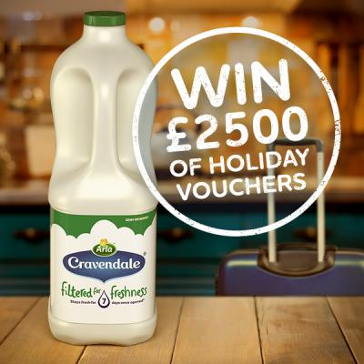 Win £2,500 of Virgin Holiday vouchers thanks to Arla Cravendale