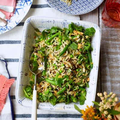 Spiced basmati rice salad