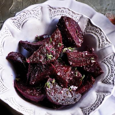 Mulled and spiced beetroot