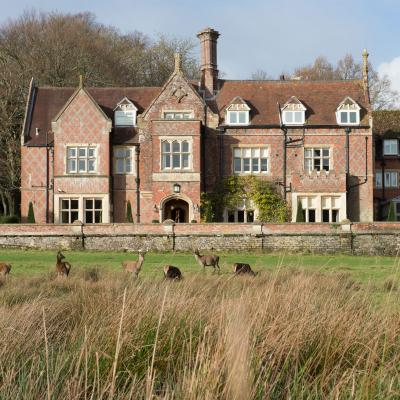 Staycation: Burley Manor, Hampshire