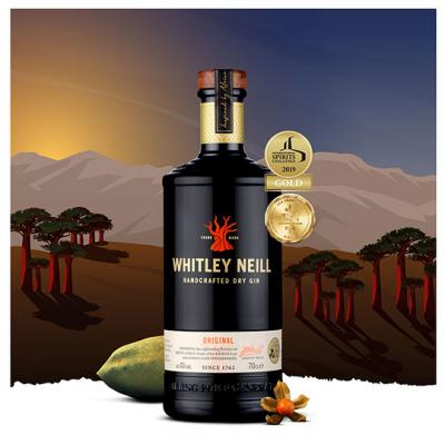 Win 1 of 10 luxury hampers with Whitley Neill Original Dry Gin