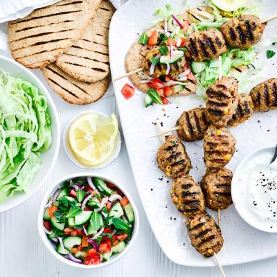 Lamb and chickpea kofte