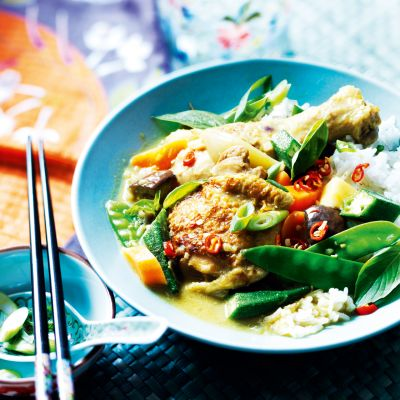 Vietnamese chicken curry