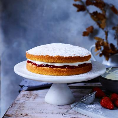 Nancy Birtwhistle's Victoria sponge