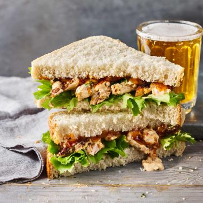 Chicken madras sandwich