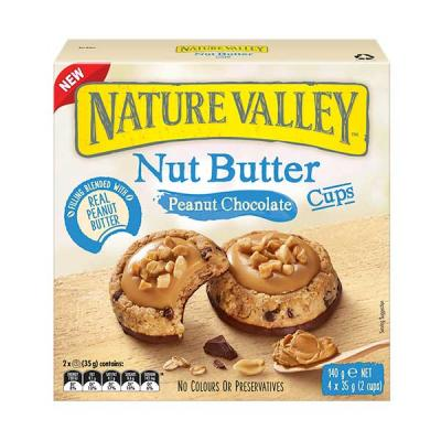 NATURE VALLEY NUT BUTTER PEANUT CHOCOLATE CUPS