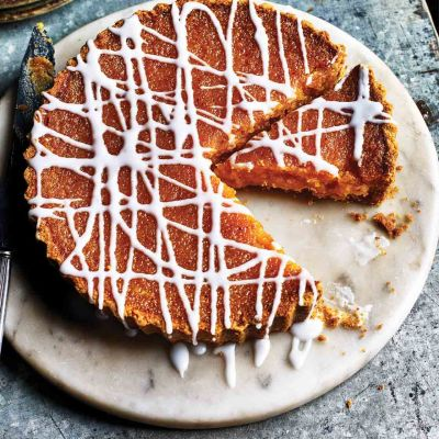 Lemon treacle tart