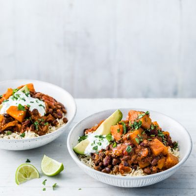 Ultimate veggie chilli