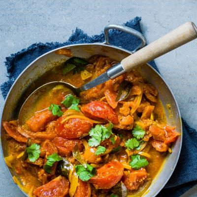 Fresh tomato curry