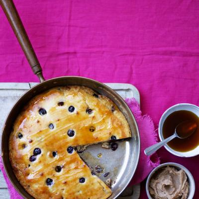 Blueberry and almond 