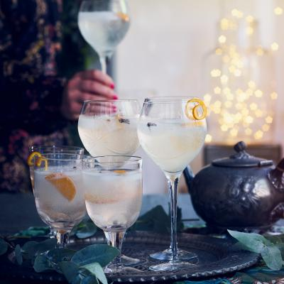 Christmas-spiced G&T
