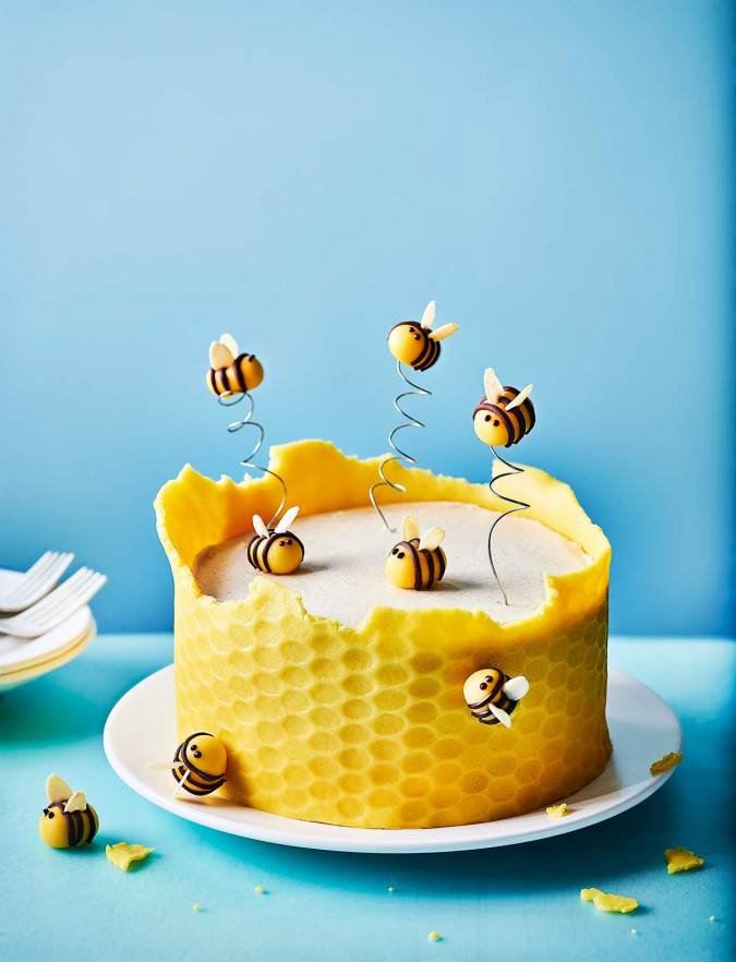 Recipe: Honeycomb cake