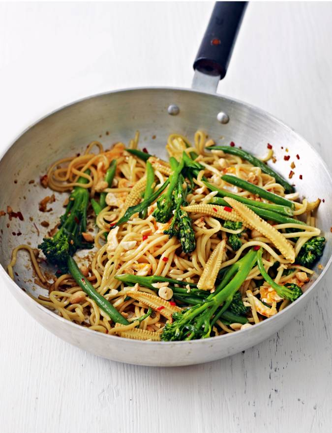 Recipe: Spicy stir fry noodles