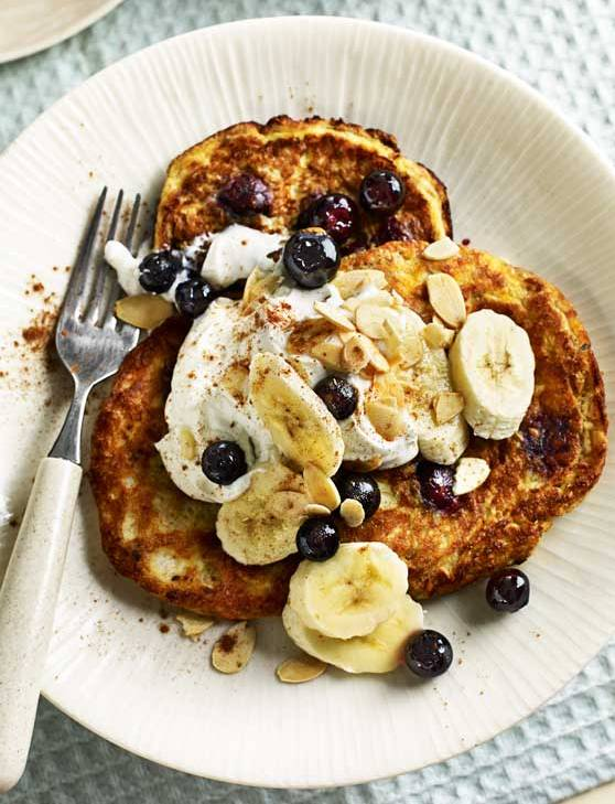 Recipe: Gluten-free almond and blueberry pancakes
