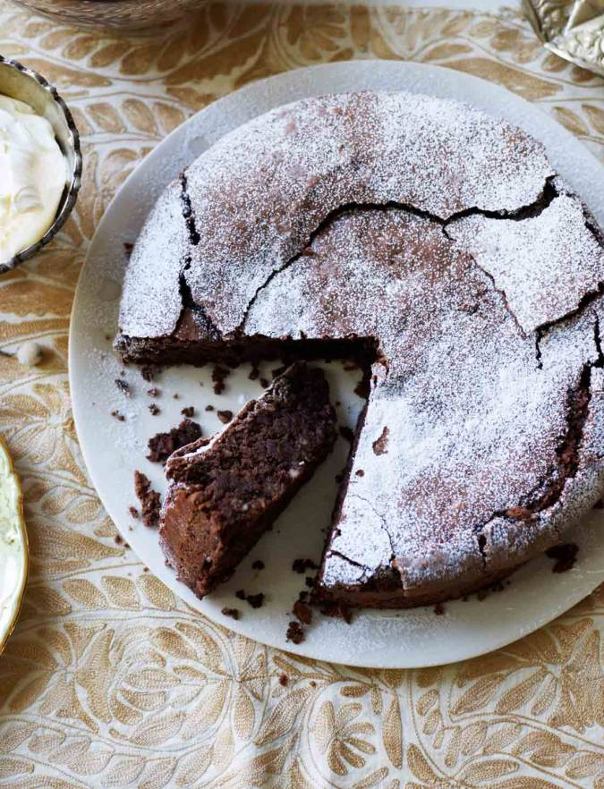 Recipe: Chocolate and almond torte