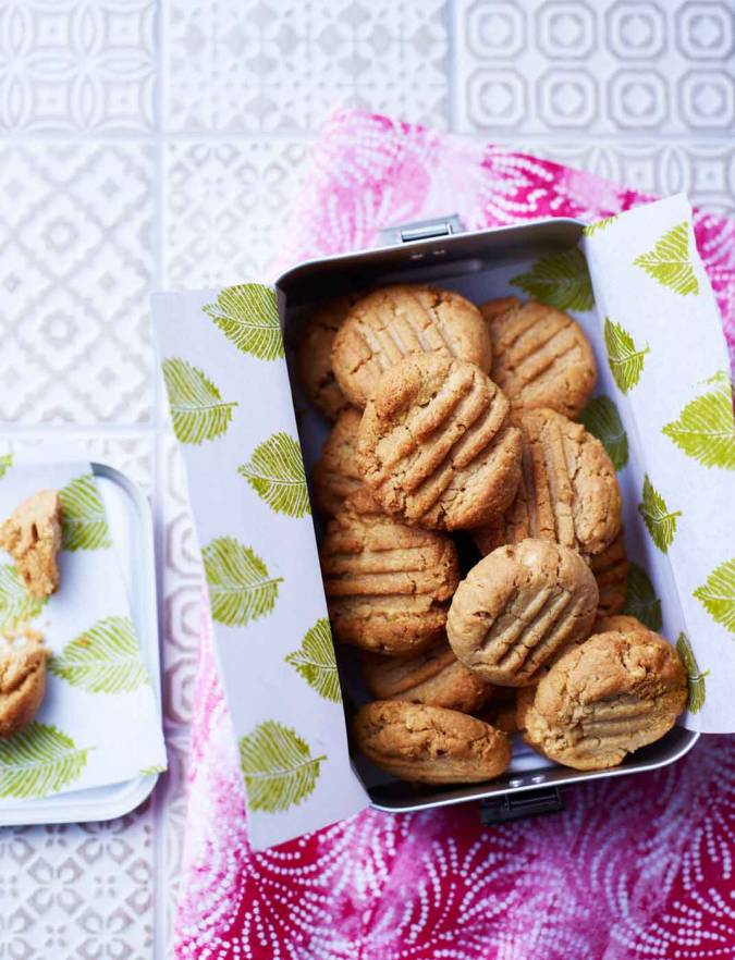 Recipe: Peanut butter shortbread cookies