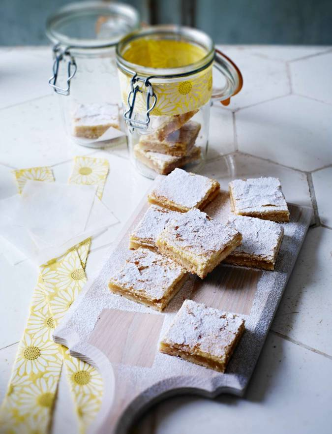 Recipe: Lemon curd squares