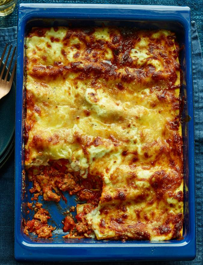 Recipe: Cheat's sausage lasagne