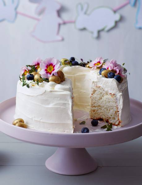 Recipe: White cloud cake