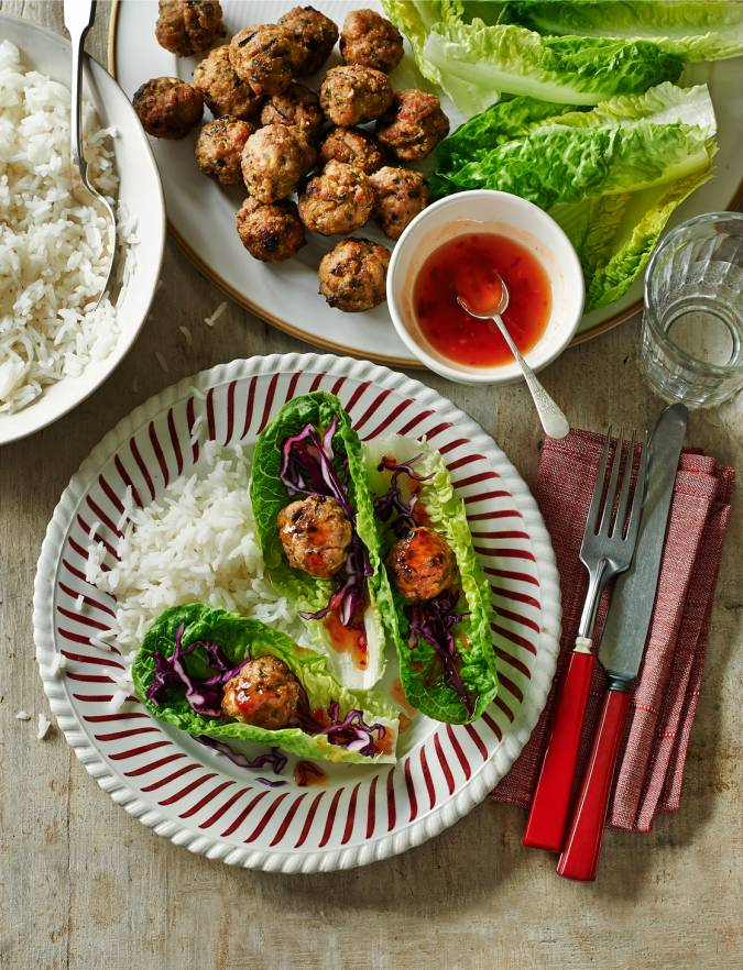Recipe: Thai turkey lettuce wraps