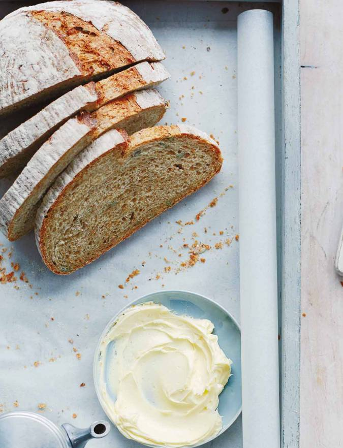 Recipe: Seeded beer bread with whipped butter