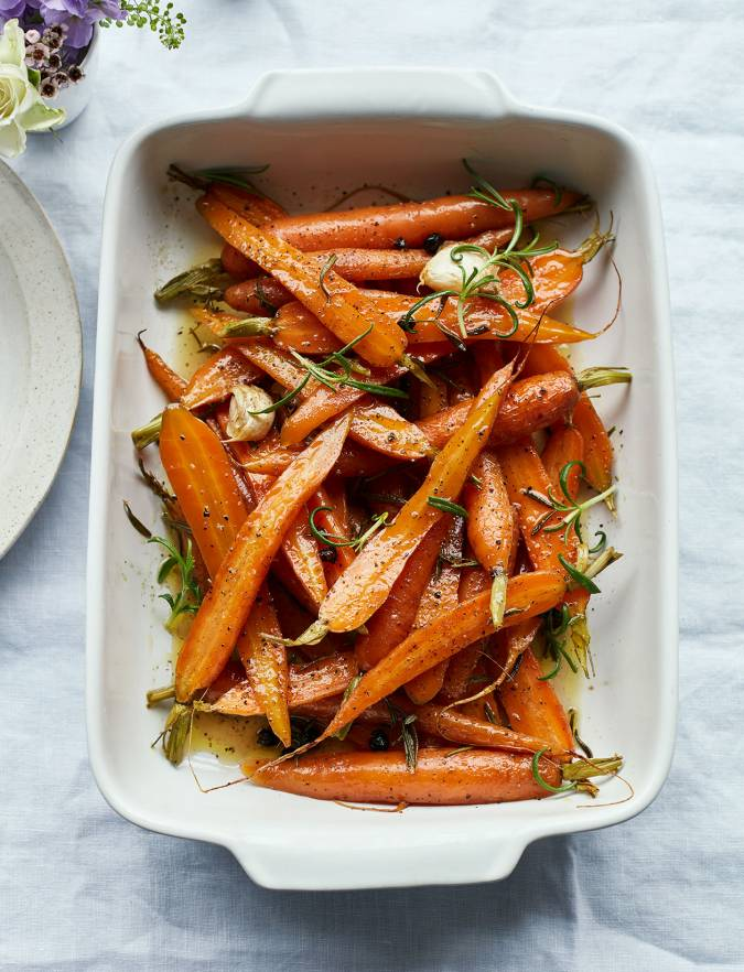 Recipe: Rosemary-roasted carrots