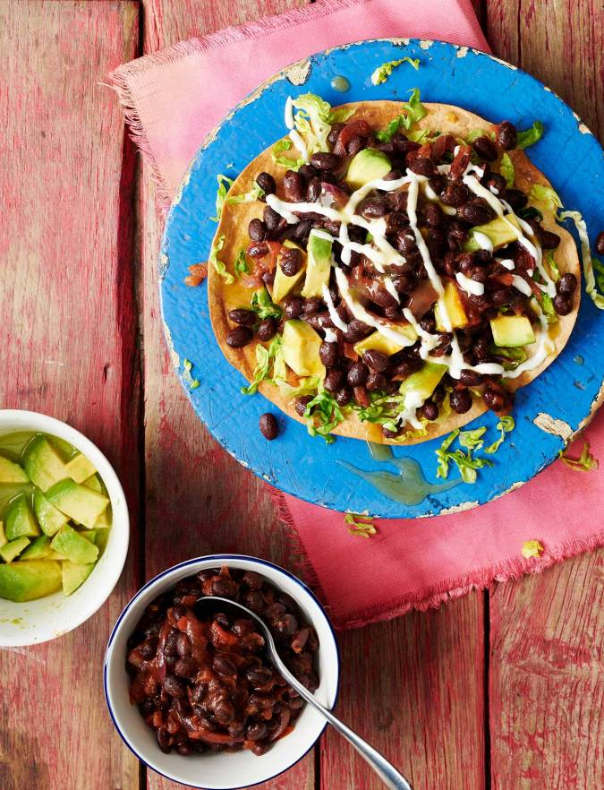 Recipe: Avocado and black bean tacos