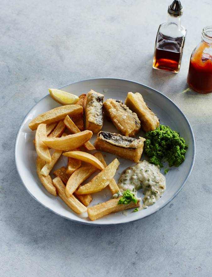 Recipe: Vegan 'fish' and chips