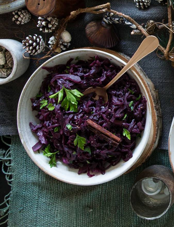 Recipe: Sloe gin red cabbage