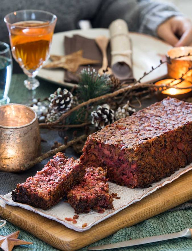 Recipe: Roast beetroot and apple stuffing loaf