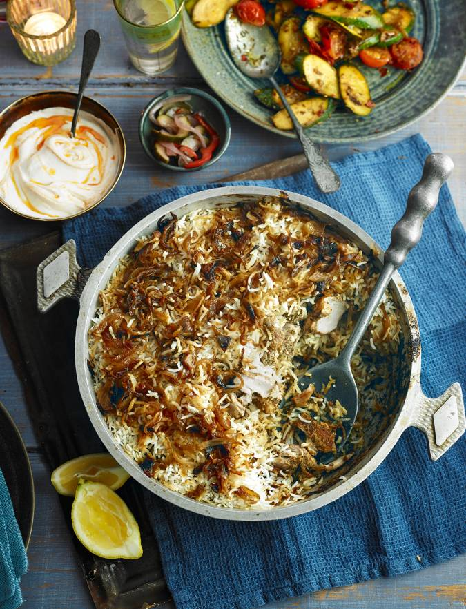 Recipe: Chicken biryani