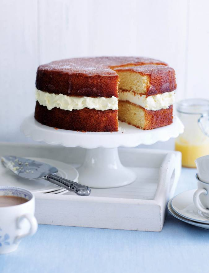 Recipe: Lemon drizzle layer cake