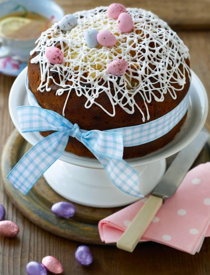 Easter Lemon Drizzle Cake Sainsbury S Magazine