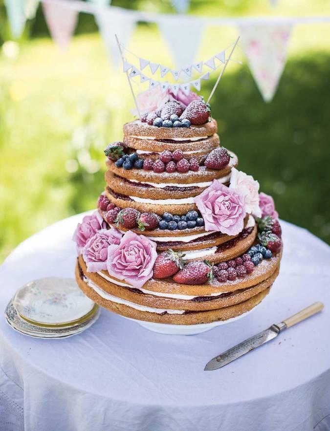 Sponge Wedding Cake Recipe Uk