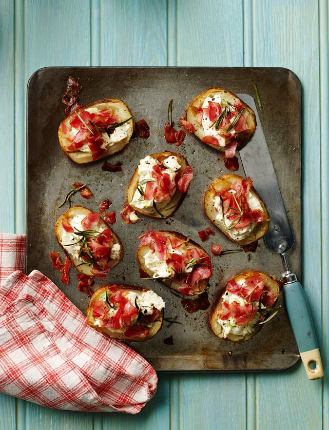 Recipe: Loaded potato skins