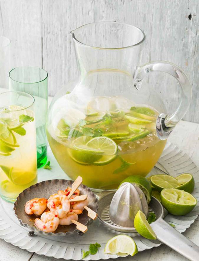Recipe: Ginger and whisky Mojito