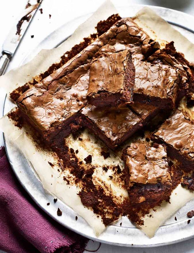 Recipe: Chocolate, beetroot and prune brownies