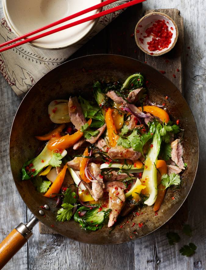 Recipe: Thai-style duck stir-fry with lime