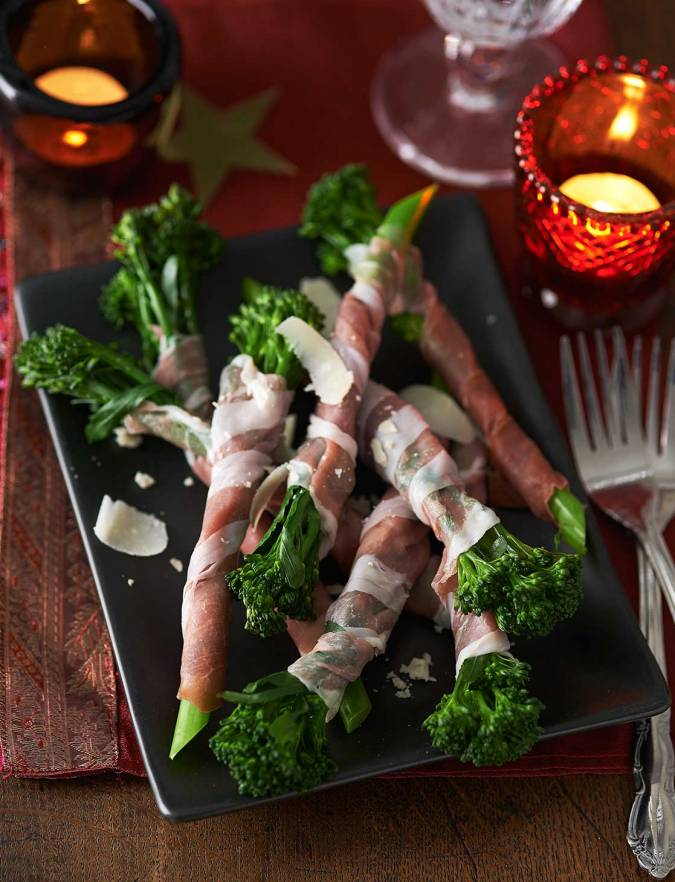 Recipe: Tenderstem® broccoli wrapped in Parma ham