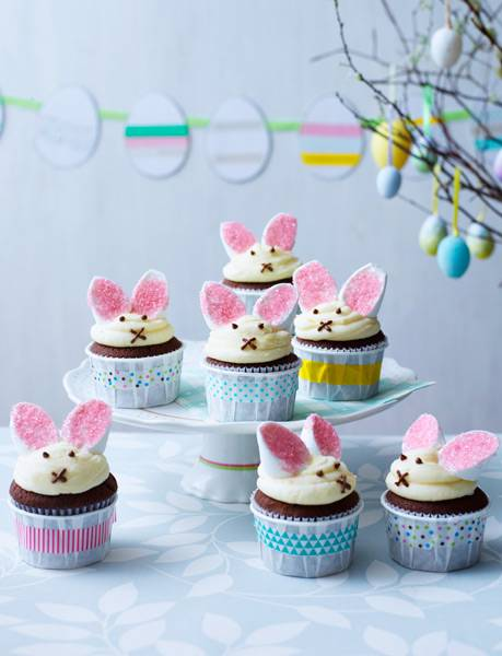 Recipe: Easter bunny cupcakes